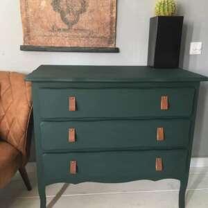 kreidefarbe Smaragdgrün Merlin von maisonmansion