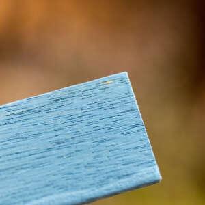 blaue Kreidefarbe mit grauen Unterton Rain von Maisonmansion