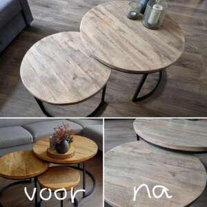 Schlichter Firniswachs von MaisonMansion auf eneir Holzen Tisch