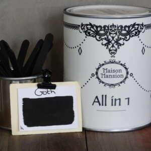 All In 1 Farbe Für Mauerb und Möbeln Goth