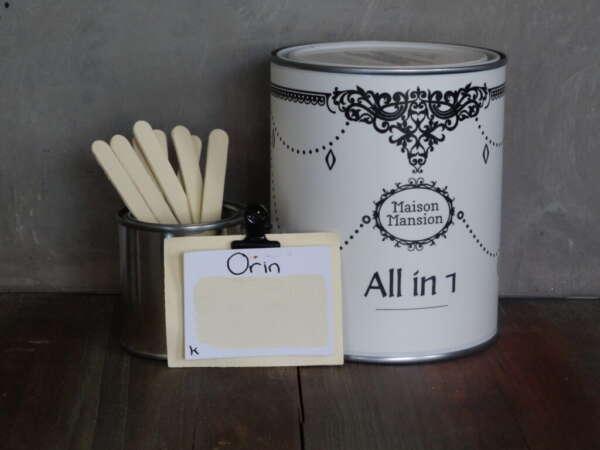 All In 1 Farbe Für Mauerb und Möbeln Orin