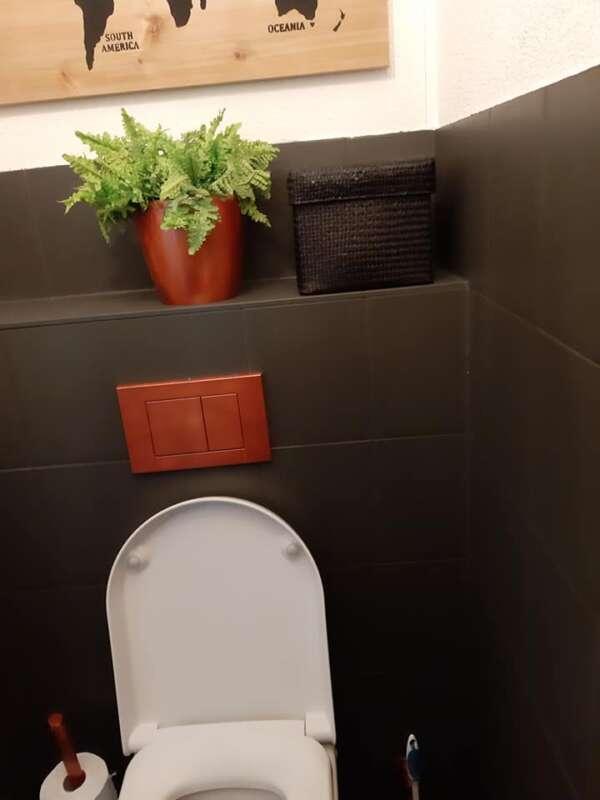 Graue Farbe Für Toilette